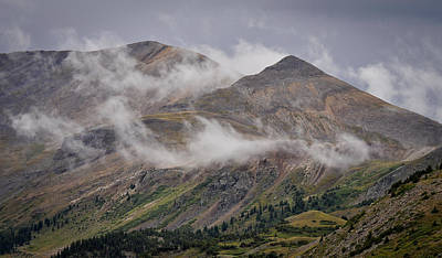 Photograph - Storm Break Peaks by Kevin Munro