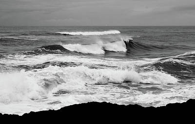 Photograph - Storm Breakers by Nick Kloepping