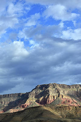 Photograph - Storm Breaks Over Virgin River Canyon by Ray Mathis
