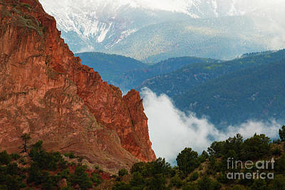 Photograph - Storm Brewing At Garden Of The Gods by Steve Krull