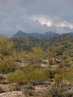 Apache Creek Photograph - Storm Brewing by Gordon Beck