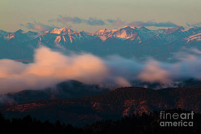 Photograph - Storm Brewing In The Sangre De Cristo by Steve Krull