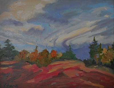 Painting - Storm Cell by Francine Frank