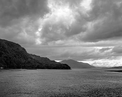 Photograph - Storm On The Isle Of Skye, Scotland by Printed Pixels