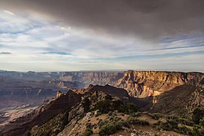 Photograph - Storm Cloud Grand Canyon by John McGraw