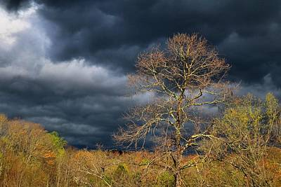 Photograph - Storm Clouds 1 by Kathryn Meyer