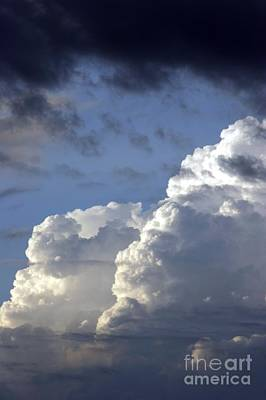 Photograph - Storm Clouds 3 by Balanced Art