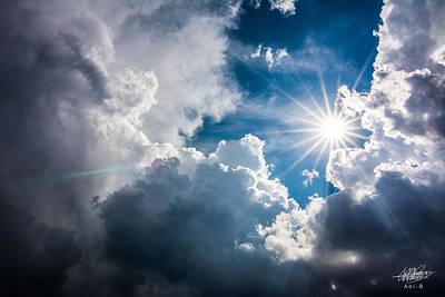 Photograph - Storm Clouds by Adnan Bhatti