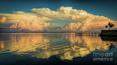 Photograph - Storm Clouds And Sunrise by Damon Powers