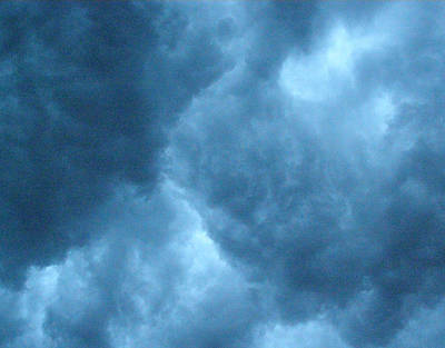 Art Print featuring the photograph Storm Clouds by Angie Rea