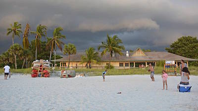 Photograph - Storm Clouds Arriving by Carol  Bradley