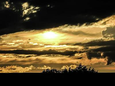 Photograph - Storm Clouds At Sunset by NaturesPix