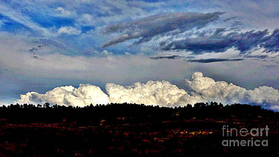 Photograph - Storm Clouds by Carole Martinez
