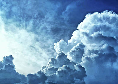 Photograph - Storm Clouds by Carolyn Derstine