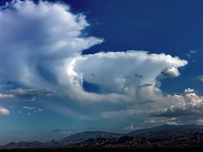 Photograph - Storm Clouds by Chris Tarpening