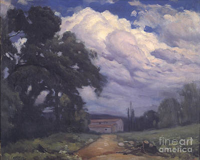 Storm Clouds Painting - Storm Clouds by MotionAge Designs