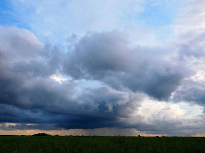 Photograph - Storm Clouds Falling by Gill Billington