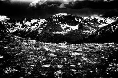Photograph - Storm Clouds Gathering In The Rockies by Roger Passman