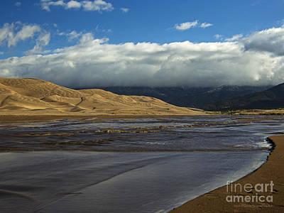 Photograph - Storm Clouds Great Sand Dunes National Park by Schwartz Nature Images