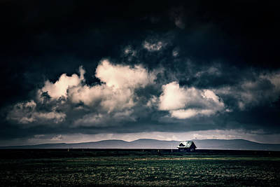 Photograph - Storm Clouds In Iceland by Ian Good