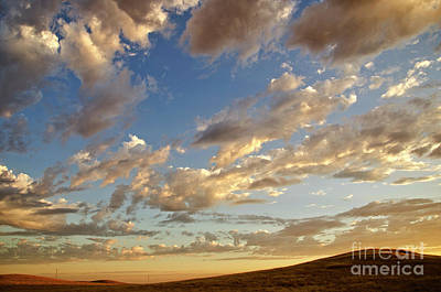 Photograph - Storm Clouds In The Foothills by Jim And Emily Bush