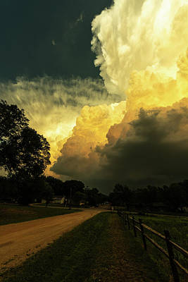 Photograph - Storm Clouds by Jay Stockhaus
