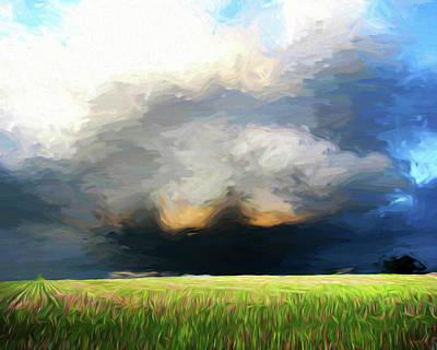 Photograph - Storm Clouds by John Freidenberg
