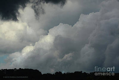 Photograph - Storm Clouds by Kathy Russell