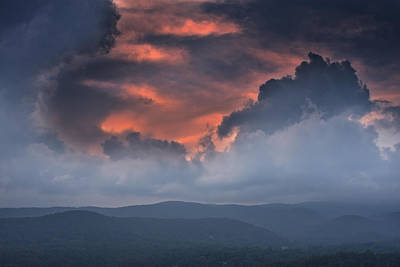 Photograph - Storm Clouds by Ken Barrett