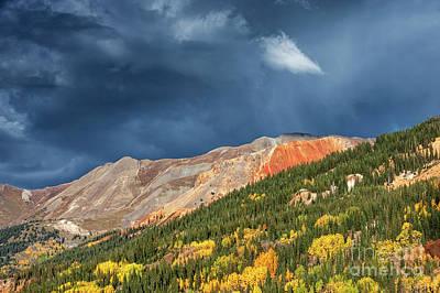 Photograph - Storm Clouds Near Red Mountain, Colorado by Tibor Vari