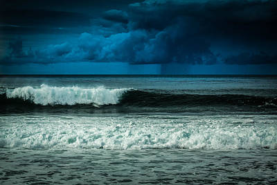 Storm Clouds On The Horizon Art Print