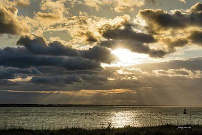 Photograph - Storm Clouds Over Beaufort Inlet by Jody Merritt
