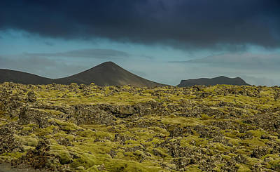 Photograph - Storm Clouds Over Iceland by KG Thienemann