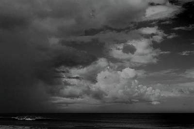 Photograph - Storm Clouds Over Ocean #1 by Paul Rebmann