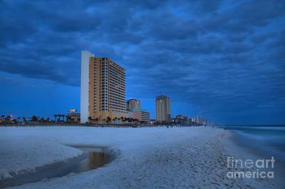 Photograph - Storm Clouds Over Panama City by Adam Jewell
