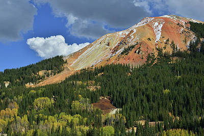 Photograph - Storm Clouds Over Red Mountain I by Ray Mathis