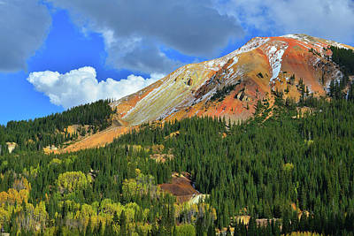 Photograph - Storm Clouds Over Red Mountain II by Ray Mathis