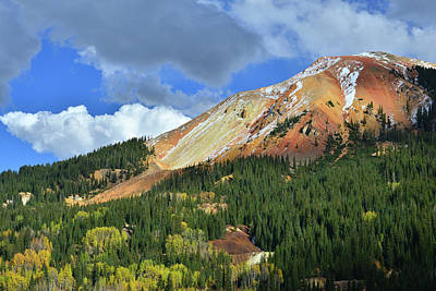 Photograph - Storm Clouds Over Red Mountain IIi by Ray Mathis