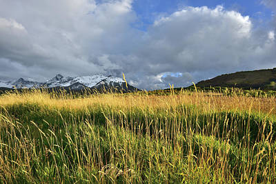 Photograph - Storm Clouds Over San Juan Mountains by Ray Mathis