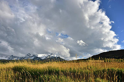 Photograph - Storm Clouds Over San Juans From Last Dollar Road by Ray Mathis