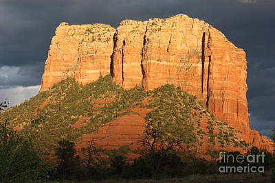 Photograph - Storm Clouds Over Sedona by Carol Groenen