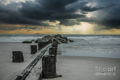 Photograph - Storm Clouds Over The Atlantic by Dale Powell
