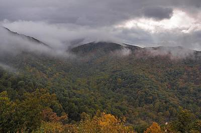 Photograph - Storm Clouds Over The Blue Ridge by NaturesPix