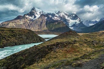 Photograph - Storm Clouds Over The Cuernos by Stuart Gordon