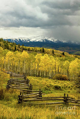 Photograph - Storm Clouds Over The Dallas Divide by Ronda Kimbrow