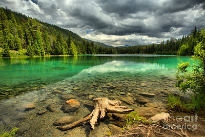 Photograph - Storm Clouds Over The Valley Of 5 Lakes by Adam Jewell