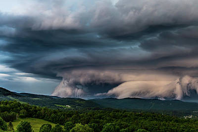Photograph - Storm Clouds by Tim Kirchoff