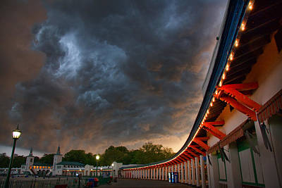 Playlands Photograph - Storm Coming by June Marie Sobrito