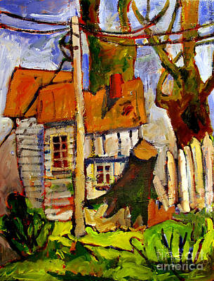 Summer Storm Painting - Storm Damage by Charlie Spear