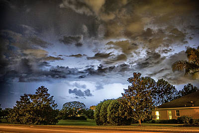 Photograph - Storm by Dennis Dugan